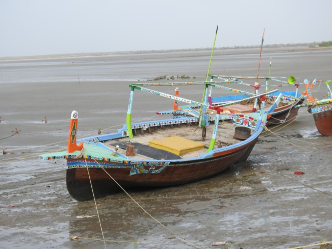 fishing boats.